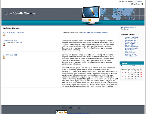 Global Network Moodle Theme