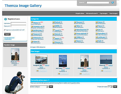 Photography Spot 4images Template