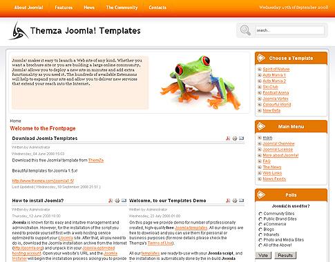 Free templates blog » joomla 1. 5. X » 'mini website-builder' – the.