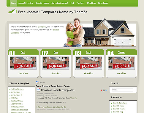 JOOMLA TEMPLATES 1.5 FREE DOWNLOAD