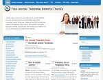 Business Affair Joomla template Upcoming