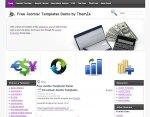 Financial Calculator Joomla template released
