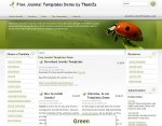 Back To Nature Joomla template released