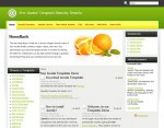 Keep It Fresh Joomla template released
