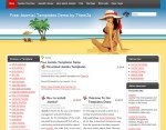 Bikini Beach Joomla template released
