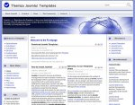 Colourful World Joomla template released