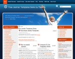 Joomla Freedom template Upcoming