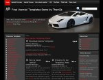 Top Gear Joomla template upcoming