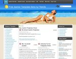 Sun Skin Joomla template released