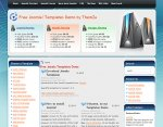 Web Hosting Joomla template released
