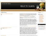 Back to School Moodle theme