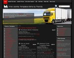 Download the Global Logistics Joomla 1.5 template