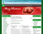 Christmas Fantasy Joomla 1.5 Template Released