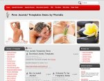 Spa Complex Joomla 1.5 Template Released