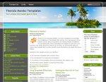 Exotic Travel Mambo template