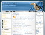 Wildlife Wonders Moodle template