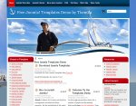 Yacht Sailing Joomla 1.5 Template Released