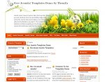 Happy Easter Joomla template released