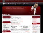 Martial Arts Joomla template