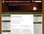 Coffee Lovers Joomla template released