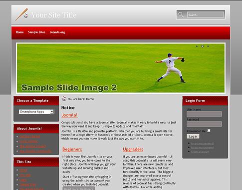 Joomla Sport Template